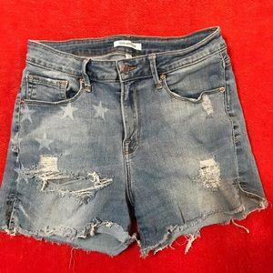Good American jean shorts
